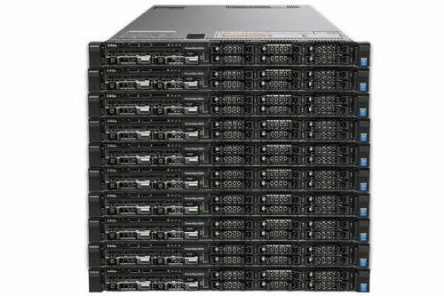 10x Dell PowerEdge R630 2x 10-CORE XEON E5-2650v3 2.3GHz 32GB 2x 300GB 1U Server